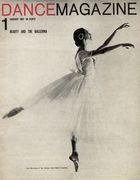 Dance Magazine, Vol. 35, no. 1, January, 1961