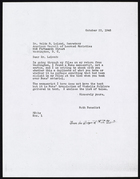 Copy of Letter from Ruth Benedict to Dr. Waldo G. Leland, October 23, 1946