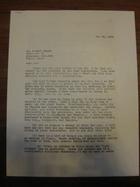 Stanley Milgram to Robert Frager, May 27, 1966