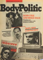 The Body Politic no. 103, May 1984