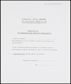 IAI - nomination form for membership of the Executive Council 1975-77