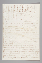Letter from Sarah Pugh to Richard D. Webb, February 6, 1871