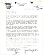 Letter from Constituent to Hon. Fred Seaton re: Pollution of Susquehanna River, October 15, 1959