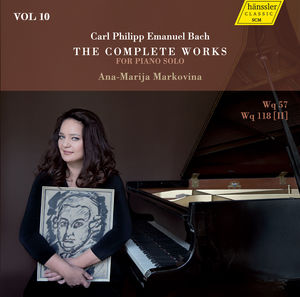 The Complete Works for Piano Solo (CD 10)