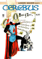 Cerebus the Aardvark, no. 34