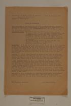 Copy of a Hearing, January 28, 1947