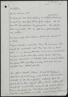 Letter from Neil Sanders to Mr. Williams re: Racial Attacks, Etc., February 4, 1982