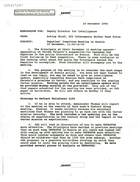 Balkan Task Force Memorandum re Deputies' Committee Meeting on Bosnia December 19, 1994, 1100-1230