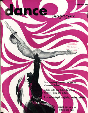 Dance Magazine, Vol. 26, no. 2, February, 1952