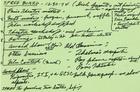 Handwritten Minutes of SPREE Board Meeting, December 30, 1974