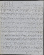 Letter from David and Jane Cannan in Melbourne to his brother James, 24 August 1853 (nla.obj-536512223)