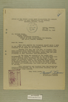 Letter from Francis C. Lindaman to William Moran, October 19, 1949