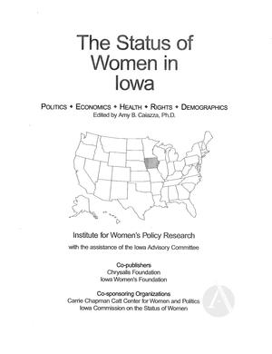 The Status of Women in Iowa, 2002