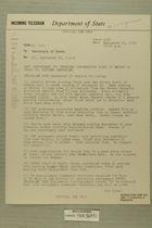 Telegram No. 281 from Francis H. Russell in Tel Aviv to Secretary of State, Sept. 22, 1954