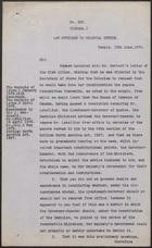 Letter from John Holker and Hardinge S. Giffard to Sir Michael Hicks Beach, June 13, 1879