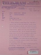 Telegram from Armin H. Meyer to Secretary of State, re: Military sales to Iran, August 6, 1966