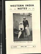 Western India Notes, Vol. 36, No. 2, April 1953