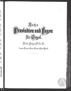 Praeludium et Fuga XIII