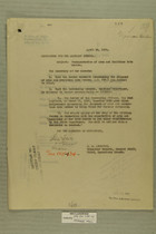 Collection of Memos re: Transportation of Arms and Munitions into Mexico, April, 1919