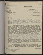 Letter from H. Fountain to Under Secretary of State, Foreign Office, re: Letter from W. Stanley Hollis to S. W. Hood on Licensing Exportation of Pharmaceuticals from UK to U.S., August 6, 1920