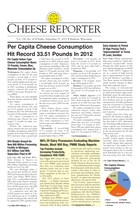 Cheese Reporter, Vol. 138, No. 14, Friday, September 27, 2013