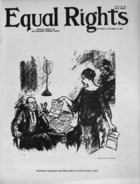 Equal Rights, Vol. 01, no. 35, October 13, 1923