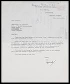 Desmond Clark to MG, 12 Mar. 1956