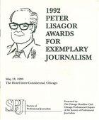 1992 Peter Lisagor Awards for Exemplary Journalism