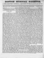 Boston Musical Gazette, Vol. 1, no. 4, June 13, 1838