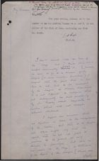 Notes from Colonial Office re: Dr. Moody and Aggrey House, June 21-December 11, 1933