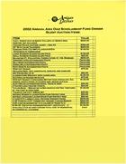 2002 Annual Aixa Diaz Scholarship Fund Dinner Silent Auction Items