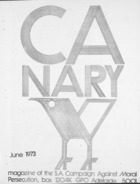 Canary  - June, 1973