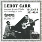 Leroy Carr: Complete Recorded Works In Chronological Order, Vol. 4