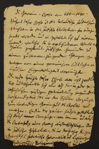 Writings and Treaties of Salomon Brann, Written in German and German with Hebrew Letters, (undated)