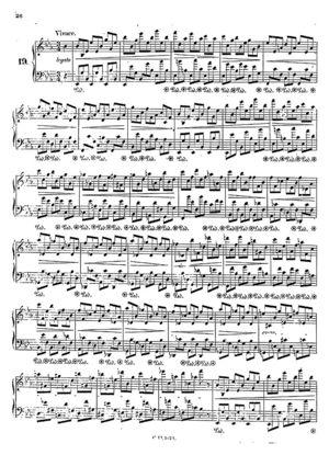Prelude no.19, B.107, Op. 28/19, E Flat Major