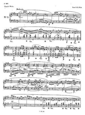 Mazurka no. 32, B.145, Op. 50/3, C Sharp Minor
