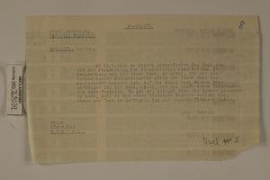 Bettrift: Meldung, August 15, 1946