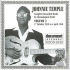 Johnnie Temple: Complete Recorded Works In Chronological Order, Vol. 2