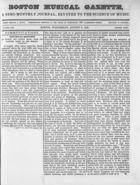 Boston Musical Gazette, Vol. 1, no. 8, August 8, 1838