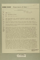 Telegram from Heath in Beirut to Secretary of State, May 17, 1956
