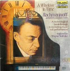 A Window in Time: Sergei Rachmaninoff Performs his Solo Piano Works (1873-1943)  Album Art