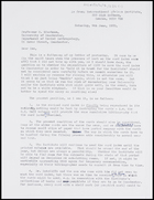 Letter from Ruth Jones to MG, 9 June