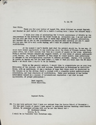 Correspondence Between Raymond Firth and A. P. Elkin, August-September, 1969