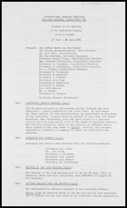IAI, Aug. 1972 - Minutes of the Meeting of the Executive Council, London 27-28 June 1972