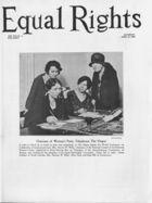 Equal Rights, Vol. 16, no. 11, April 19, 1930