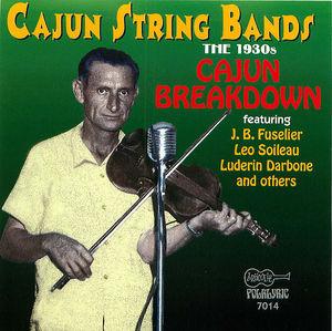 Cajun String Bands - The 1930s:  Cajun Breakdown