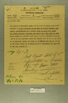 Incoming Memo from ALCOM to CG Fifth Army, Undated