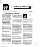 California Women: Bulletin, Issue I, 1991