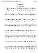 Antiphon 78:  Pro pace regum