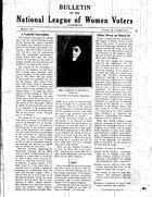 Bulletin, vol. 3 no. 9, March 1930